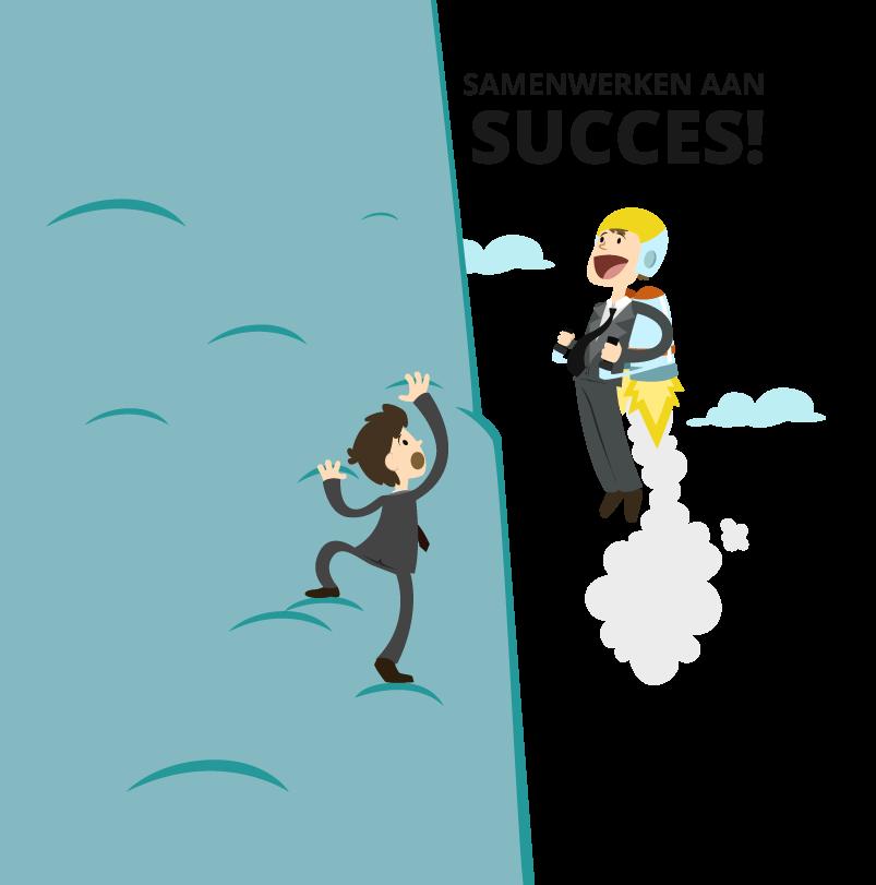 Contact-Samenwerken aan succes