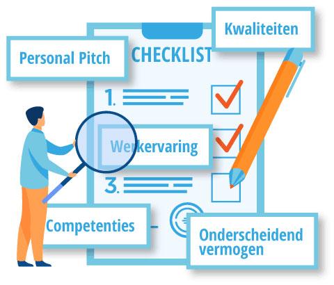 Checklist-waar-moet-je-cv-aan-voldoen