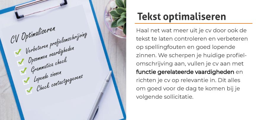 Tekst optimaliseren