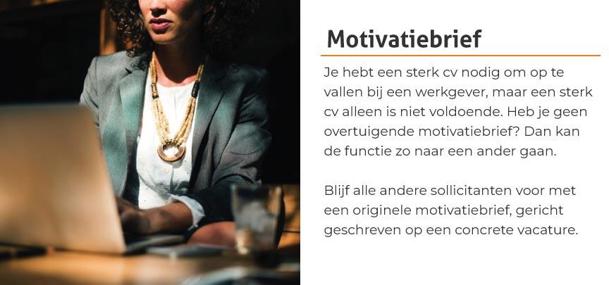Motivatiebrief laten schrijven