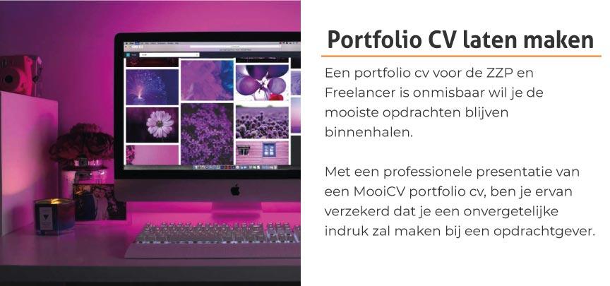 Portfolio CV laten maken?
