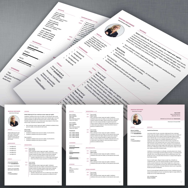 CV format 54